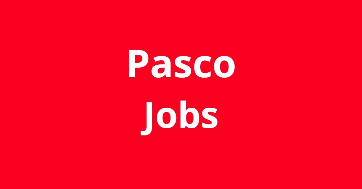 Jobs In Pasco WA