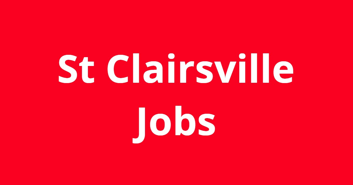 Jobs In St Clairsville Ohio