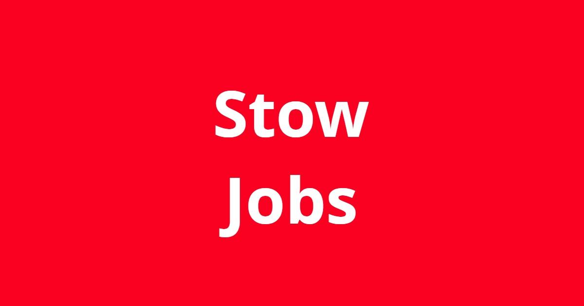 Jobs In Stow Ohio