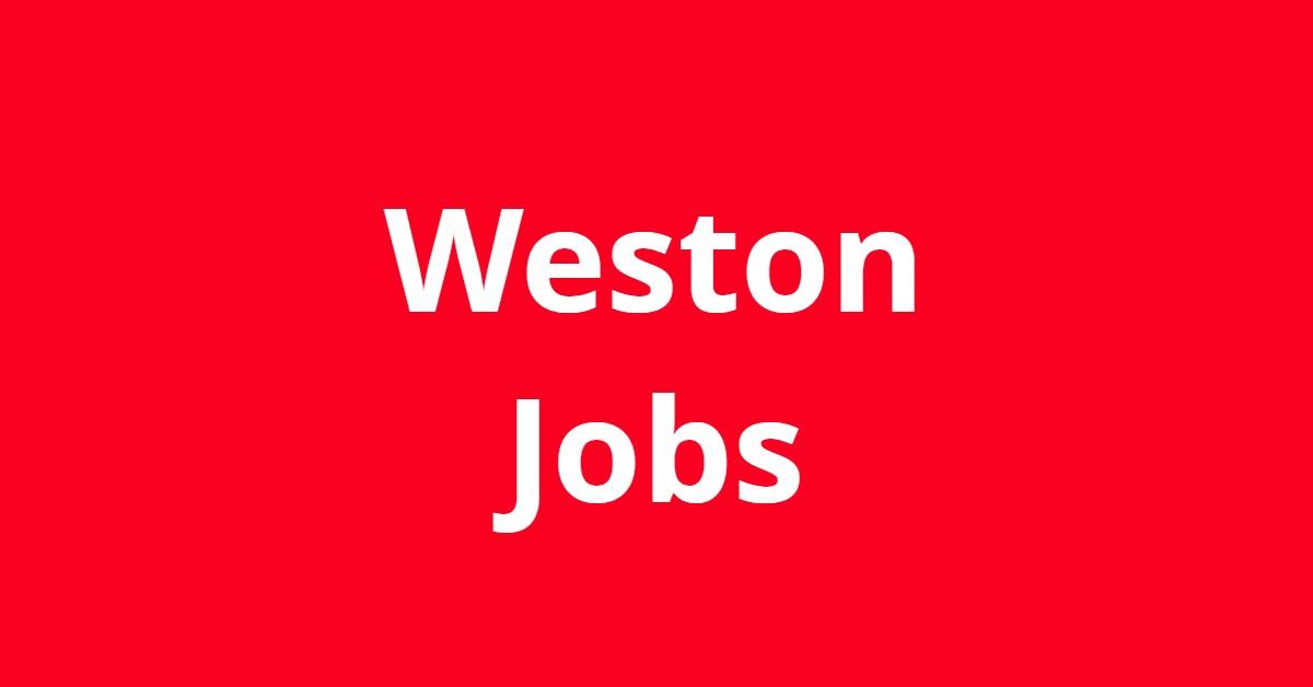 Jobs In Weston WV